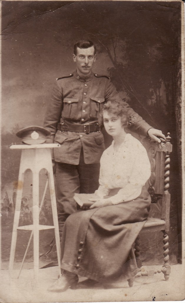 Albert Henry Shopland with his sister Edith Mary © Robin Shopland