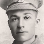 photo of frank bowring ww1 soldier