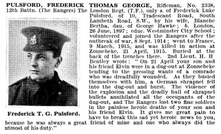 Frederick Thomas George Pulsford